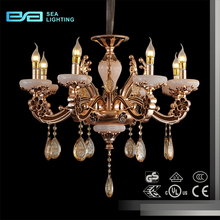 Lobby vietnam silk E14 puck light antique night club Chinese crystal chandelier parts 2108104
