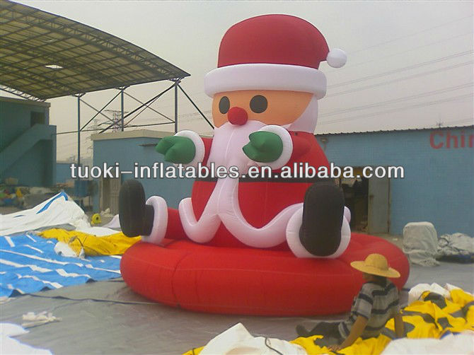 inflatable christmas moving cartoon