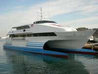 350P Catamaran Passenger ship for sale