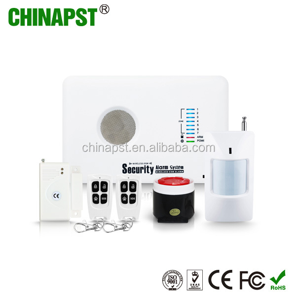 2017 English/Russian/Spanish/Polish GSM alarm for house/office safety GSM Personal Usage surveillance house system PST-G10C