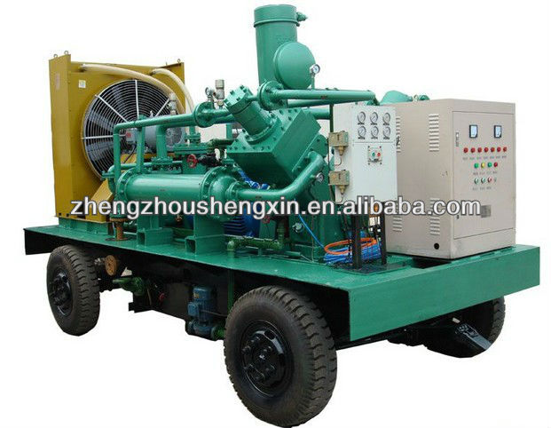 Green color Dental oilless air compressor/silent air compressor/ silent medical oilless air compressor made in shanghai