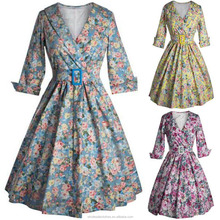 2016 new style 2015 Popular 1950s 1960s Housewife Retro Pinup evening rockabilly dress,party clothing 2016 new style rockabilly