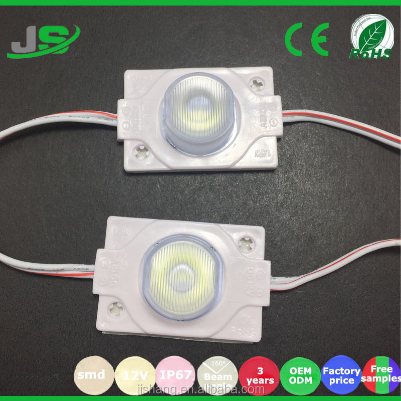 Factory Supply 1.5W 3030 Injection Module for double side light box round led module