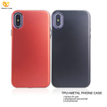 New Shockproof Hard Aluminum TPU For iPhone Metal Case X 2 in 1