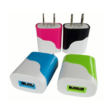 1 Port Single USB Charger Home Wall Charger Adapter for iPhone for Android