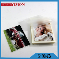 Yesion 2015 China ManufactureTransparent Hot Pouch Laminating 100mic A3, PET/EVA Glossy Photo Lamination Pouch Film