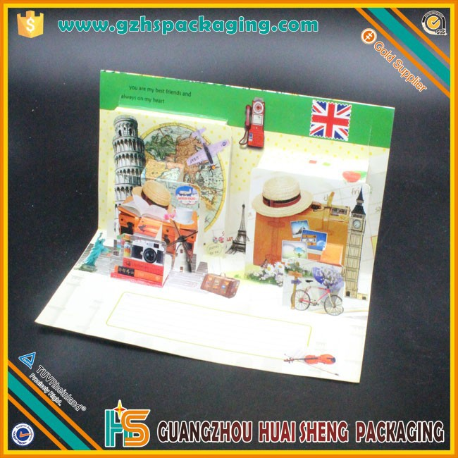 Germany 3D Popup Greeting Cards Kirigami Cards 2015 Hot And New Erman Greeting Cards