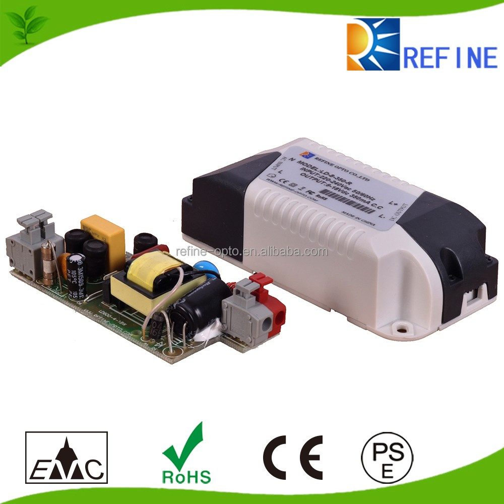12v 24v 36v 48v waterproof dimmable constant current High power factor led driver