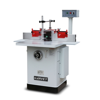 HW303D 3HP Deluxe Woodworking Shaper