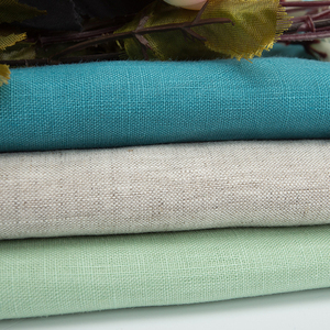 Plain 100% linen fabric for dress and shirt