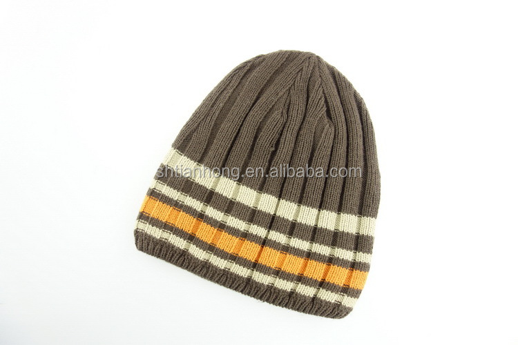 China manufacture useful man knitted skull cap