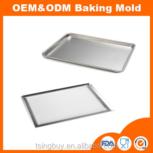 Home Garden Bakware Full Size Aluminum Sheet Pan Commercial Bakery Equipment Cake Kitchen