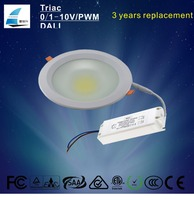 EU Standard CE RoHS Certification 9W LED Downlight Dimmable with external driver
