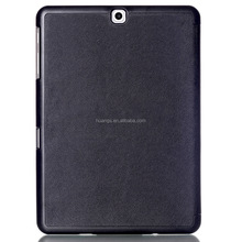 Mobile accessories Slim Magnetic Leather Smart Cover Hard Back Case for samsung galaxy tab s2 9.7 t810 wholesale alibaba
