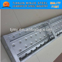 Galvanized scaffolding perforated metal plank /steel walk boards/catwalk made in China