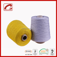 anti-pilling factory supply linen cotton polyamide blended yarn for knit women socks