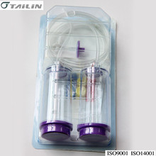 Sterile test canister for pharmaceutical laboratory quality control test