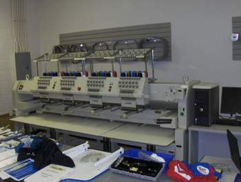 Brother BE-1204C 4-head Embroidery Machine