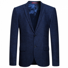 top brand men office blue coat pant men suit