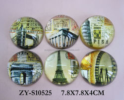 dome shape glass paperweight fashion design