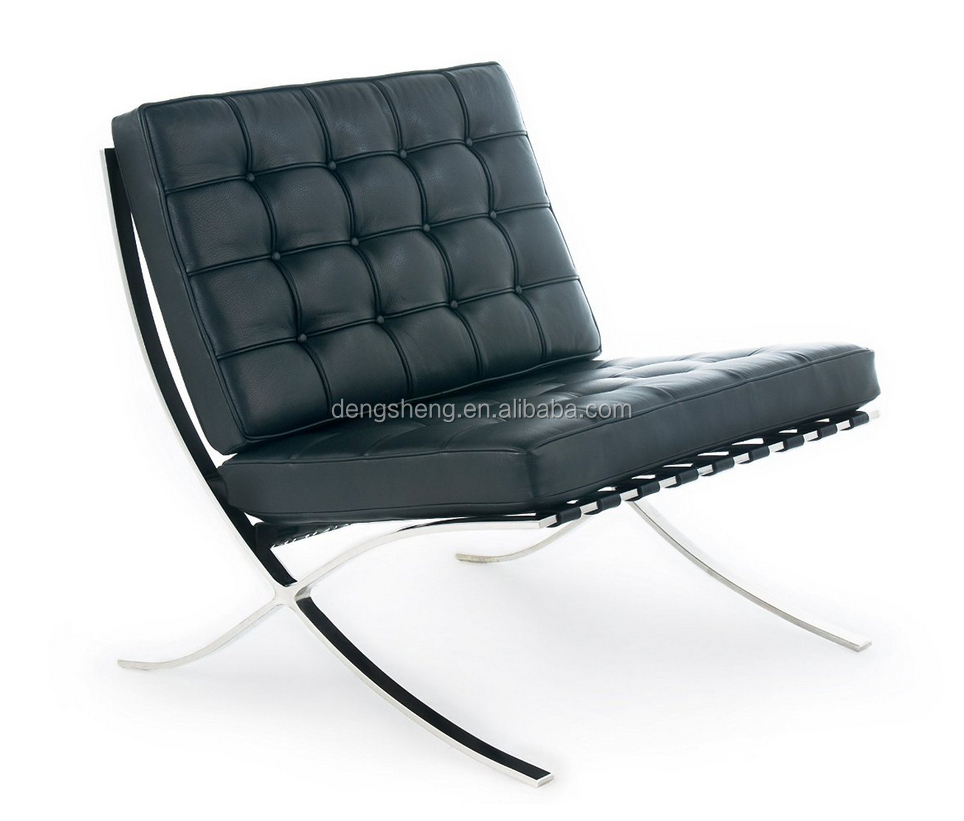 leather barcelona chair