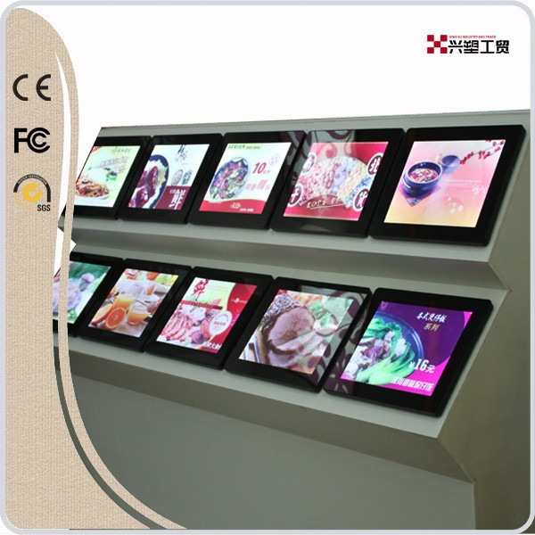 Xingsu FG all kinds of light box,menu board,3d wall panel,advertising frame