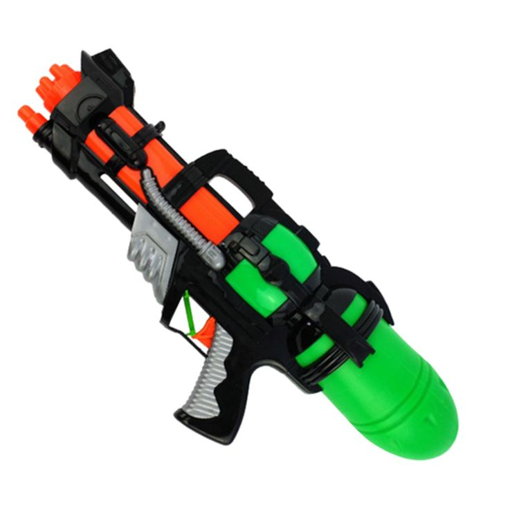 728278A-Plastic Squirt Gun Water Shooters Funny Gun Toy for Kids 800ml 278A - Color Random