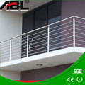 Balcony stainless steel indoor/outdoor cheap deck railing post designs