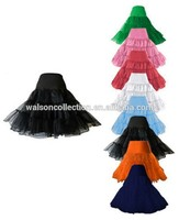 "Clothes walson China factory Red White Black 26"" Petticoat Underskirt Prom Party Swing Rockabilly Dress Fancy Dress"