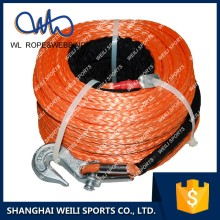 (WL ROPE)20000LBS truck winch synthetic rope / electric tugger winch / 10 ton winch