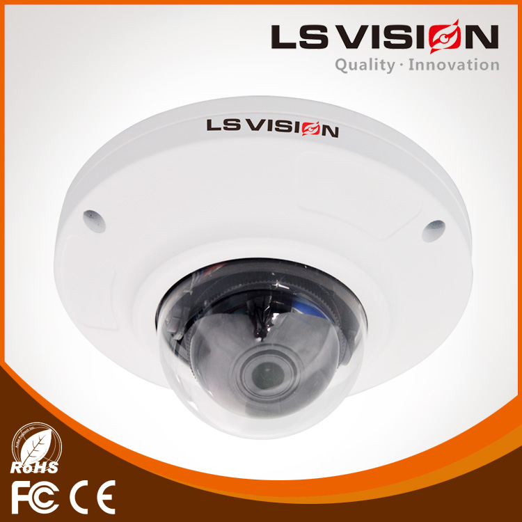 LS VISION network advertising player box network panel h.264 network video surveillance system