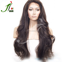 Wholesale Factory Price 30inch Long Black Body Wave Full Lace Wig 100 Human Hair Front Lace Wigs for African Americans
