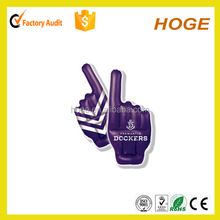 pvc cheering inflatable hand with customized logo for promotion inflatable hand toy