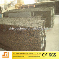 Natural Polished Granite Baltic Brown Stone