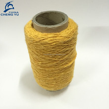 recycled cotton polyester mix weaving colorful price carpet yarn