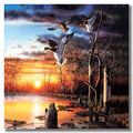 3 pieces lenticular decorative wall hanging picture 3d