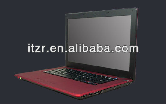 "14"" <strong>Laptop</strong>/notebook/netbook , with DVD-RW , LED panel, D2500 ATOM CPU,Support 3G & independent VGA card"