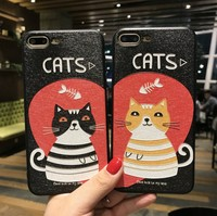 New Design beautiful 3D Printing cartoon Mobile Case Phone Cover