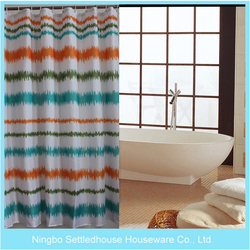 "Shower Curtains PEVA 71x71"" Bathroom Products Waterproof Polyester Shower Bath Curtain With 12 Hooks"