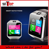2014 New Arrival Smart Watch phone GV08 Bluetooth sync support