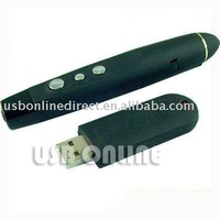 Wireless USB laser pen for PowerPoint Presenter