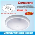 good quality 60 SMD led Automatic pir sensor ceiling lamp