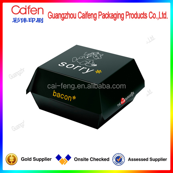 beautiful color printed small paper box