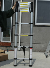 2017 hot sell Telescopic Ladder 2.6m 2.9m 3.2m