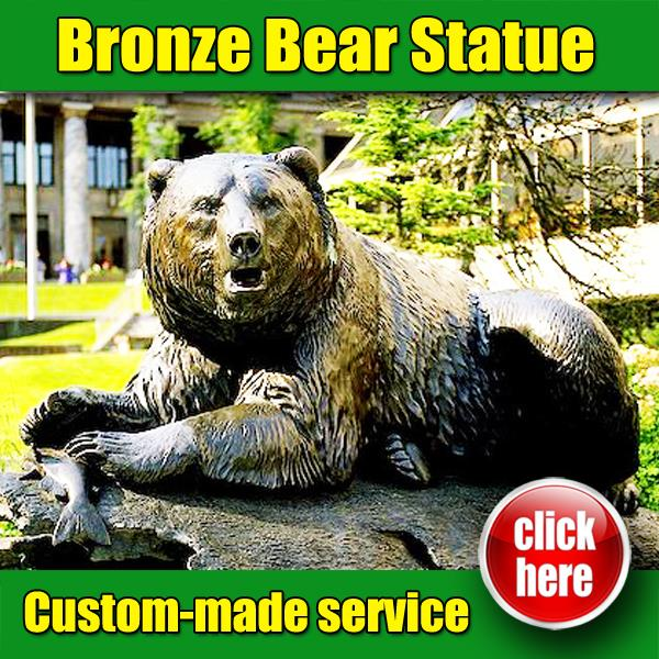 New Design Bear and Bull Statue where at Wall Street with High Quality
