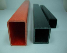 high strength Square Tube Structural Fiberglass Pultrusions tube/profiles