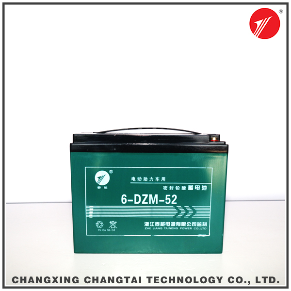 High Performance 12v 52Ah lithium battery for golf cart