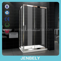 8mm Fancy Custom Made Sliding Shower Enclosure(CE) (BL-016)