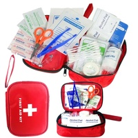 Free Sample No MOQ Survival First Aid Kit 120 Supplies