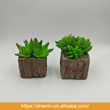 Small Artificial Potted Succulent Plants